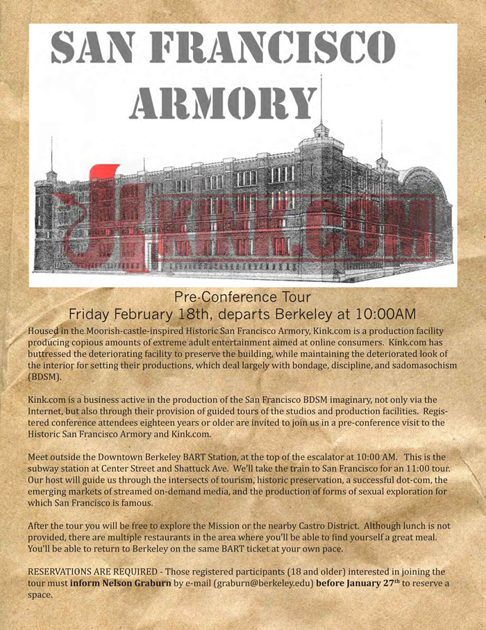 SF Walking Tour and Armory